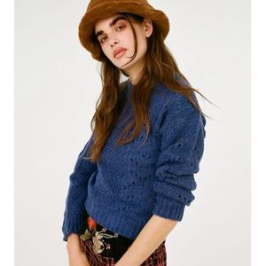 BNWT urban outfitters knit  blue sweater